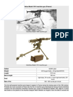 Hotchkiss Model 1914 Machine Gun (France)