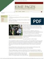 IU Kokomo Chancellor Michael Harris, Leads First Graduation In New Pavilion, IU Home Pages