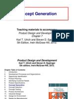7 Concept Generation New. pengembangan produk. teknik industri