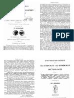 ROSCHER, W. H., Ausfürhlisches Lexicon der Griechischen un Romischen Mythologie.1