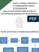 Presentasi jurnal SBF sintesis bahan farmasi