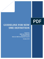 New SME Guideline