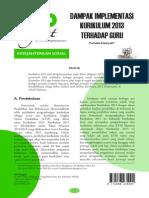 10 2013_1 Dampak Implementasi Kurikulum 2013 Terhadap Guru (Faridah Alawiyah)