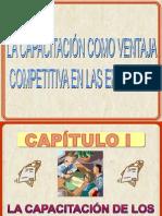 La Capacitacion Como Ventaja Competitiva