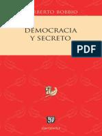 Bobbio_democracia y Secreto