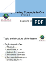 Beginning With C