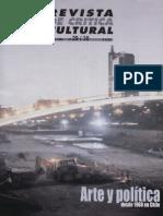 Revista de Critica Cultural 29 - 30