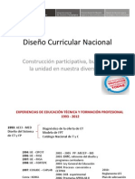 Diseno Curricular Nacional