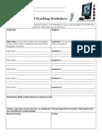 reciprocalteaching worksheet1