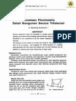 pemetaan_planimetris