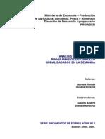 Análisis financiero de programas de Desarrollo Rural basados en la demanda