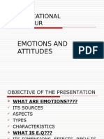 Jan 10 . Emotions and Attitudes