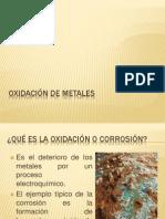Oxidación de metalesZURI