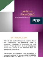 Análisis financiero PRESENTACION