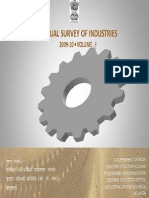Annual Survey of Industries Vol I 2009-10