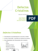 Defectos Cristalinos