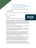 Ley Reguladora de La Propiedad en Condominio (Ampliada Por Profe)