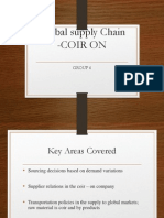 Global Supply Chain- Coiron