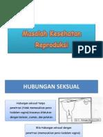 Masalah Kesehatan Reproduksi