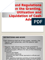 Rules and Regulations on the Granting, Utilization