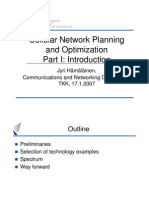 Cellular Network Planning and Optimization Part1