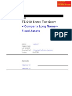 TE040 FA Test Script Fixed Assets.com
