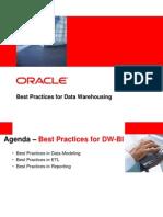 DW-BI Best Practices
