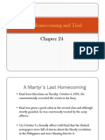 Last Homecoming and Trial