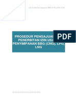 Licensing Procedure - Gas Storage