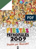 Programa Fiestas Alcorcón 2009