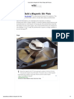How to Build a Magnetic Stir Plate_ 9 Steps (With Pictures)