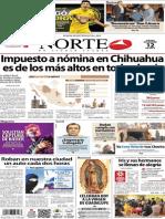 Periódico Norte de Ciudad Juarez 12 de Diciembre de 2013