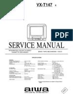 AIWA--VX-T147 Service Manual