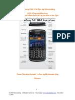 Blackberry 9700 Bold Model Tips