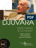 DEMO Djuvara Neagu Intre Orient Si Occident