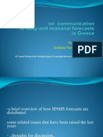 Communication of Daily and seasonal weather Forecasts in Greece_ Panos Giannopoulos