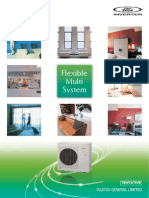 2011 Fujitsu General 8-Room Multi