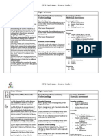 GTPS Curriculum Science Grade 6