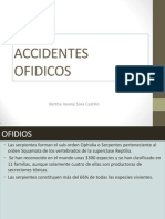 ACCIDENTES OFIDICOS