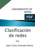 Presentación-Clasificación de redes-Juan Carlos Alvarado Rivera -11090409