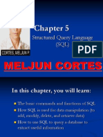 MELJUN CORTES Structured Query Language Complete