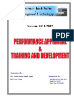 mohd zaffPERFORMANCE APPRAISAL 