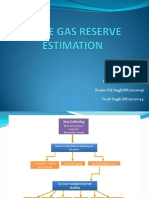 Shale Gas Reserve Estimation