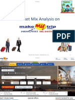 Marketingmix of Makemytrip.com