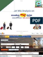 Marketingmix of Makemytrip.com