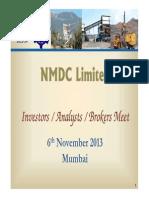 NMDC Presentation