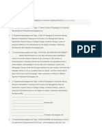 A project report on role of packaging on consumer buying behaviorDocument Transcript.docx