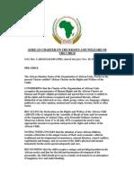 AfricanCharter Right Welfare Child