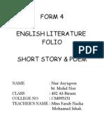 english literature form 4 (folio)
