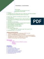 Rheumatology 5 Case Presentation